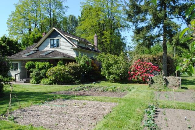 Clayburn Village Community Garden on Private Land